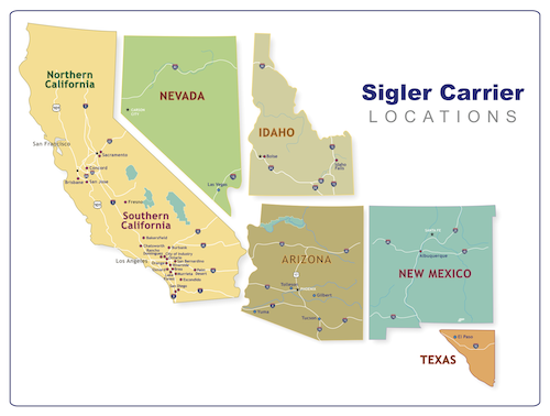 Locations - Sigler Carrier
